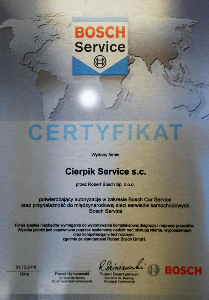 Cierpik SERVICE